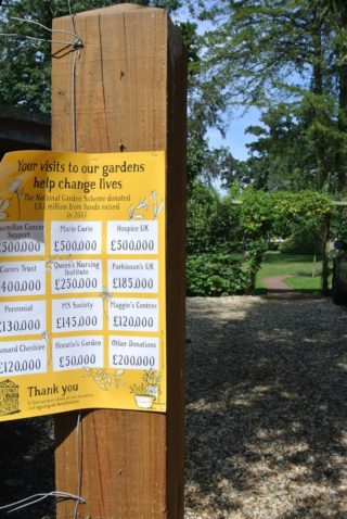 The NGS raise money for some amazing hospital; charities which makes opening the garden really worthwhile. | NGS Garden Ferns Lodge