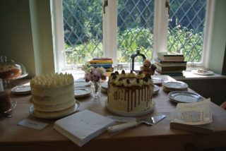 Not flora or fauna but cakes for our second opening of 2019, the window overlooks the top garden. | NGS Garden Ferns Lodge